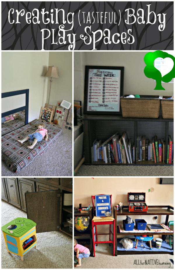 Creating {tasteful} Baby Play Spaces | ALLterNATIVElearning