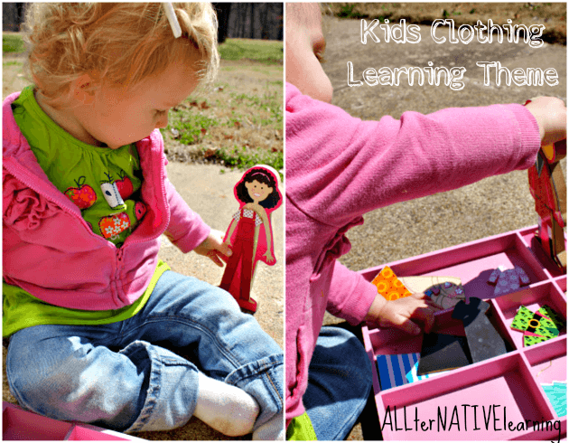 Kids Clothing Tot & Preschool Theme - Games & Activities | ALLterNATIVElearning
