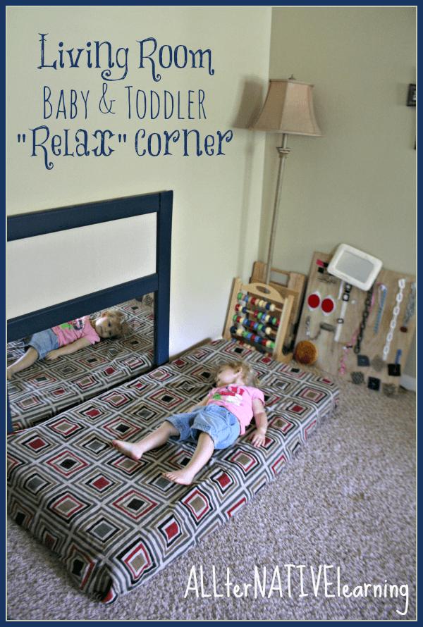 Living Room Relax Corner {Planned Environment} ALLterNATIVElearning