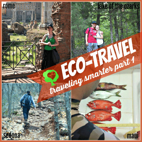 7 Tips to for eco-travel and ways to be more frugal and environmentally friendly | ALLterNATIVElearning