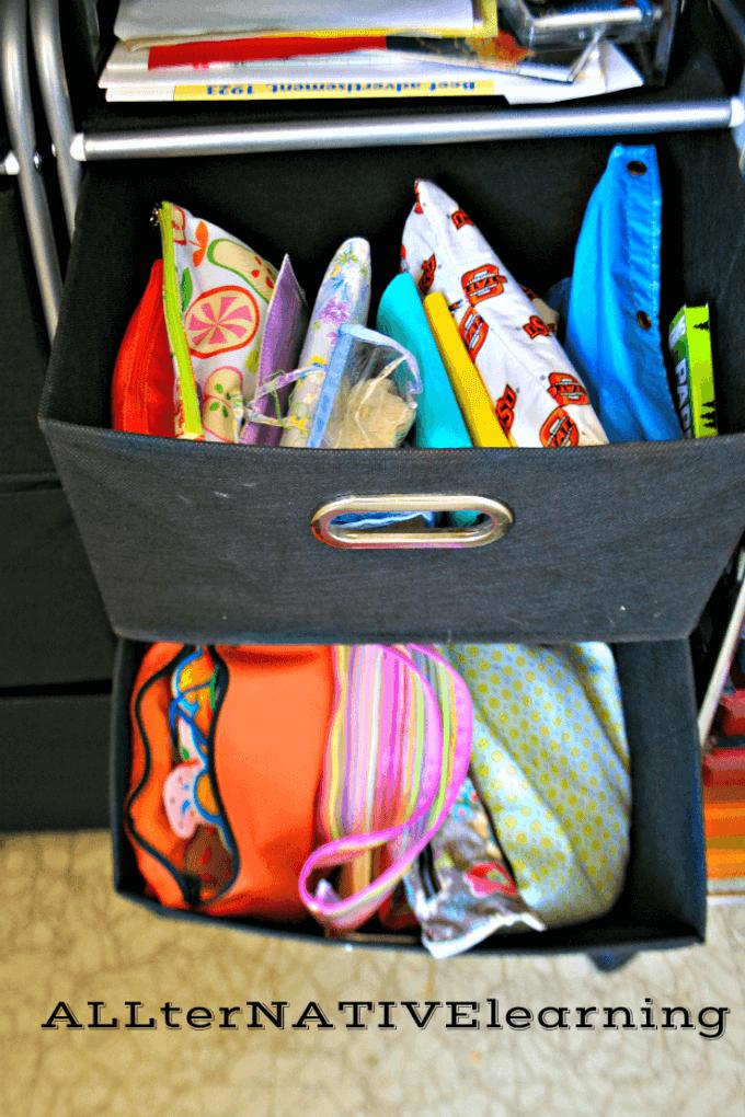 Busy Bag Storage | ALLterNATIVElearning