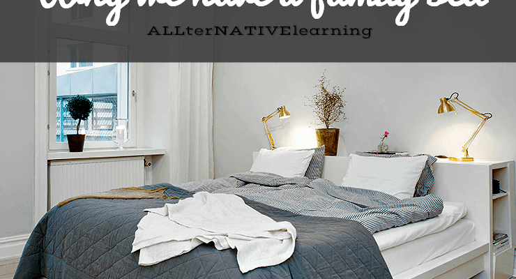 Why we chose to co sleep and bed share with our children in a family bed   ALLterNATIVElearning