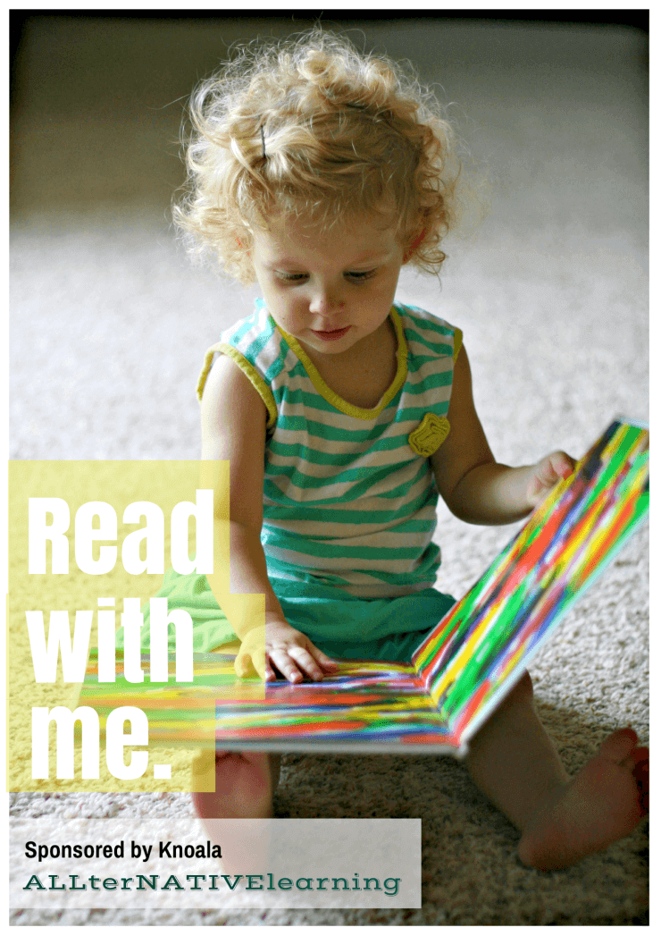 The Art of Storytelling to tots - Read with Me | ALLterNATIVElearning.com