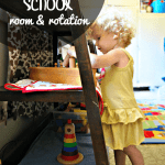 Establishing a Tot School Room | Take a tour of our set-up and rotation at ALLterNATIVElearning