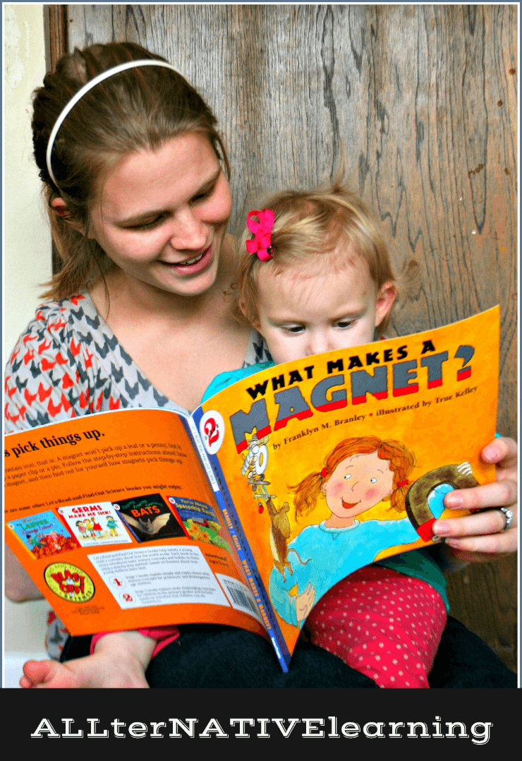 Interactive Reading with Toddlers | ALLterNATIVElearning