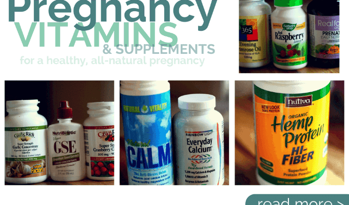 List of Pregnancy Supplements and the best Prenatal Vitamins to have on hand | ALLterNATIVElearning
