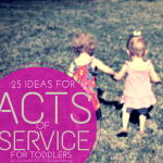 25 ways to include toddlers in acts of service to others as part of teaching diversity and empathy | ALLterNATIVElearning.com
