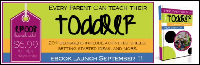 Every parent can teach their toddler Pre-Launch | ALLterNATIVElearning