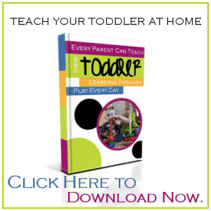 Learn how to teach your toddler at home with this great tot school ebook | ALLterNATIVElearning.com