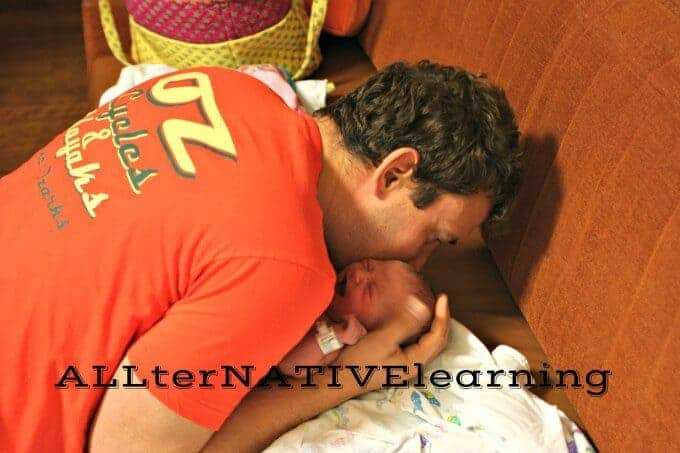 Preparing Dads for a newborn baby | ALLterNATIVElearning
