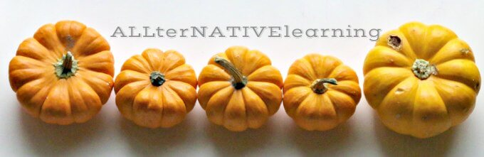 Sort Pumpkins by their shade and gradient color | ALLternativelearning.com