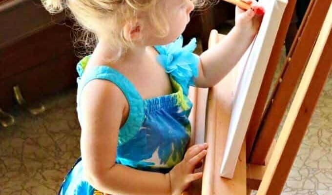 Art with Toddlers | ALLterNATIVElearning