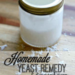 Homemade diaper yeast infection rememdy that's cloth dafe and all natural. Easy to make and clears up the rash completely in a couple of days | ALLterNATIVElearning