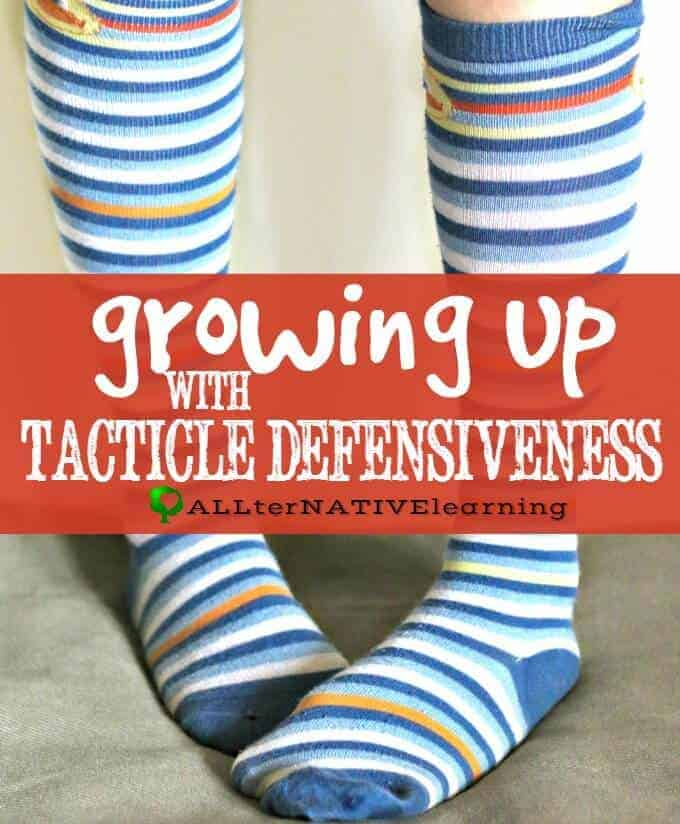 A Touchy Subject – Tactile Defensiveness as a Child and Adult