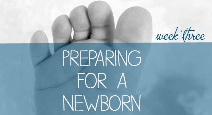 how to prep for a newborn checklist