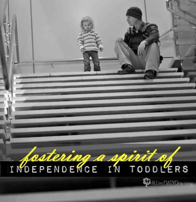 Fostering a spirit of independence in toddlers by helping them make choices and understand consequences | ALLterNATIVElearning.com