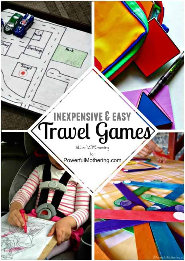 INEXPENSIVE AND EASY TRAVEL GAMES