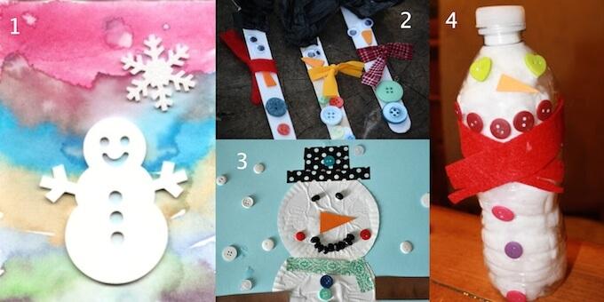 Snowmen-crafts