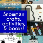 Snowmen crafts and activities | ALLterNATIVElearning