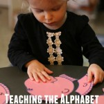 Free Printable and other ideas for teaching the alphabet | ALLterNATIVElearning