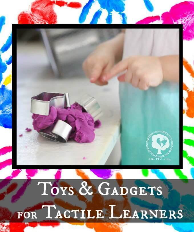 Gifts for tactile learners