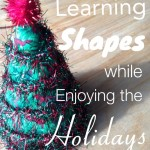 How to incorporate larning shapes during the Holidays