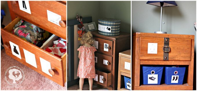 Montessori Dressing Area for Toddlers