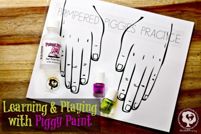 Piggy Paint creative ideas with toddlers #PamperedPiggies #ad