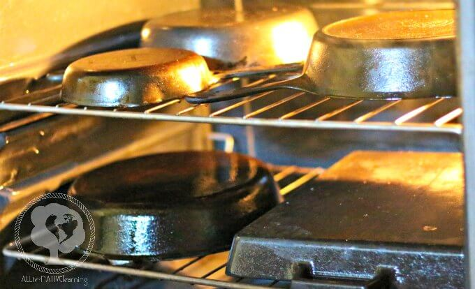 How to season Cast iron in the oven