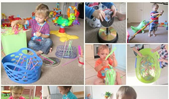 Activities to promote independent toddler play