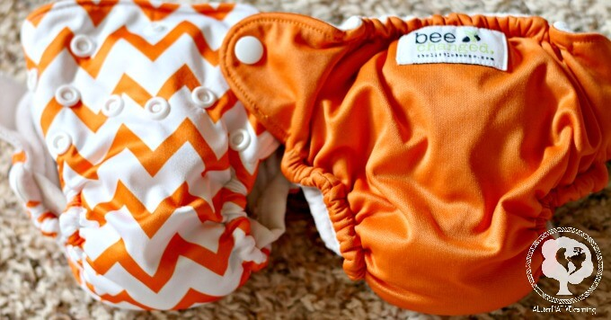 Bee Changed newborn aill in one cloth diaper review