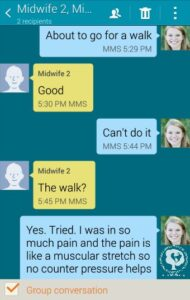 conversations with my midwives