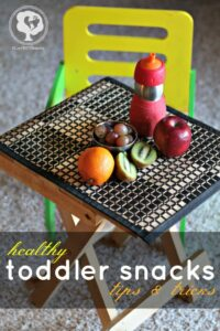 Healthy Toddler Snakcs - ways to help kids eat healthier
