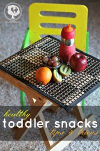Healthy Toddler Snakcs - ways to help kids eat healthier