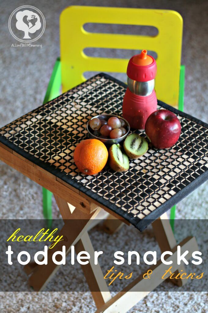 Healthy Toddler Snacks - ways to help kids eat healthier