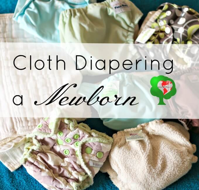 How to cloth diaper a newborn even on a tight budget