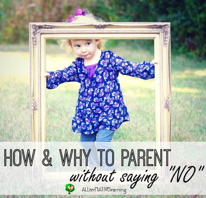 Parenting without saying no and creating boundaries for our children with intentional wording.
