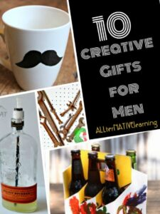 Homemade Gifts for Men ideas and list