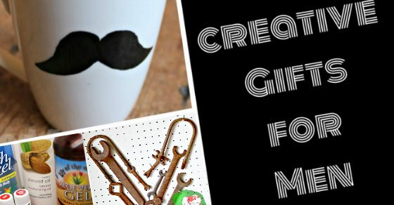 Creative homemade gifts for men for Clever gifts for men