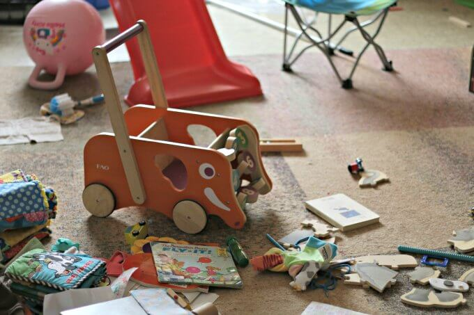 Finding joy in my clutter and how to stay sane when your mess gets too much