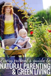 Need help finding information about green living with kids? This is a comprehensive natural parenting resource guide!