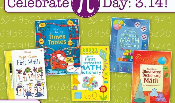 Books for kids to use during National Pi Day