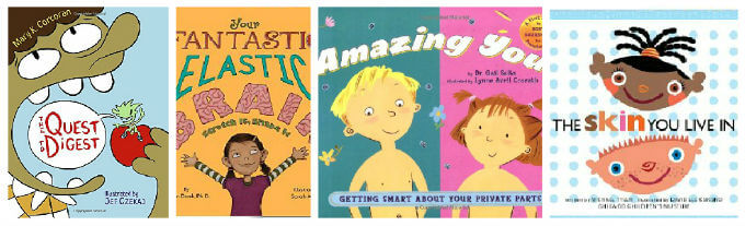 amazon kids books about the body