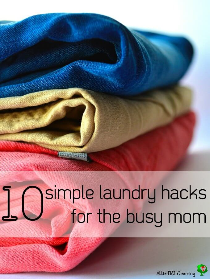 10 Quick, easy, and effective laundry hacks for busy families