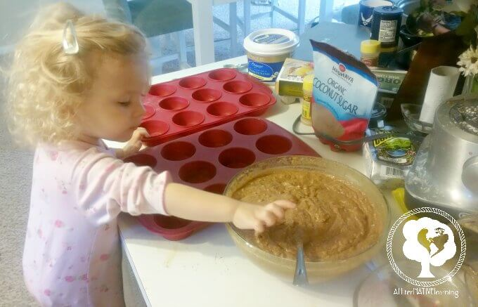 Make Muffins or Pie with your kids for Pi day!