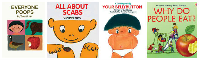 usborne books about bodily functions