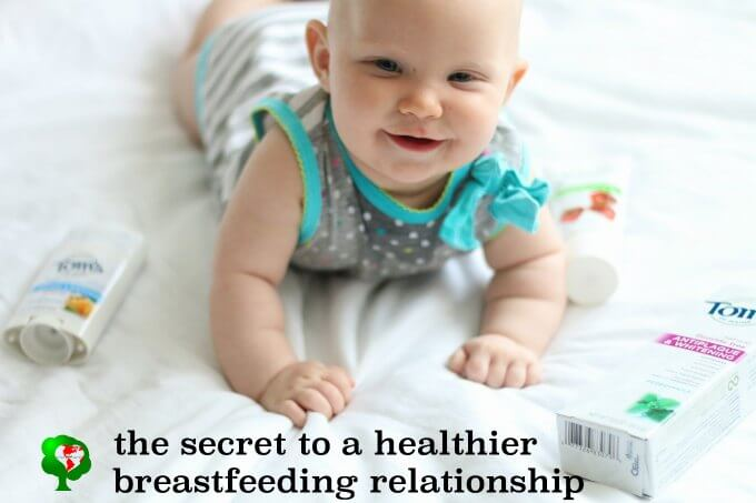 The secret to a healthier breastfeeding relationship between mom and baby