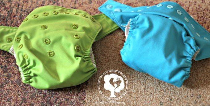 adjustable snaps in cloth diaper