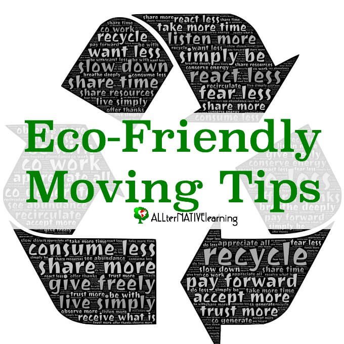 eco-friendly moving tips for natural families