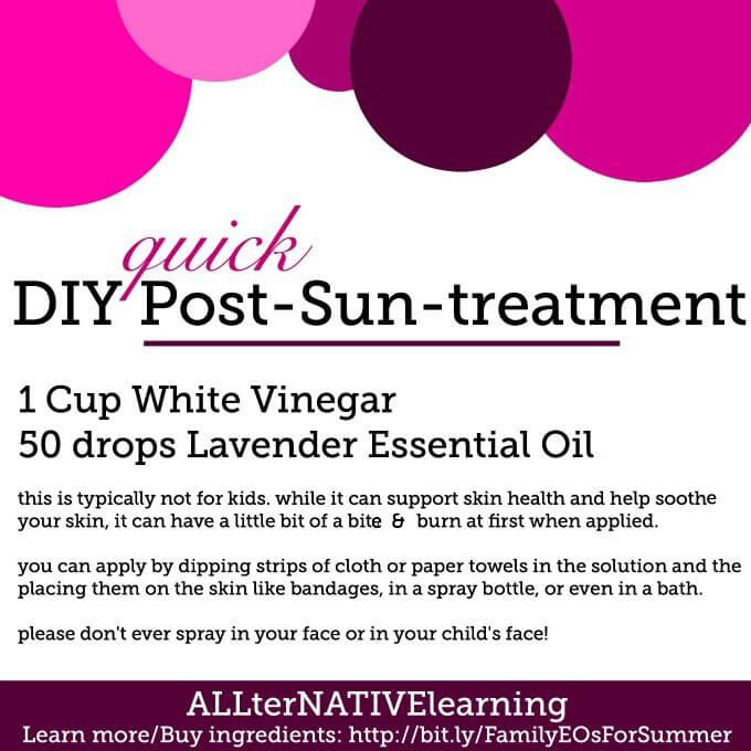 natural aftersun treatment